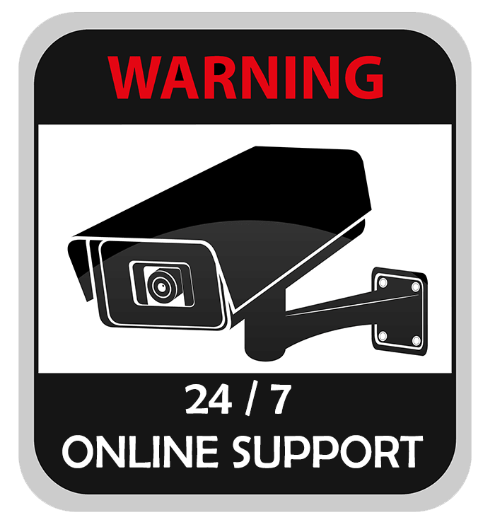 Online Security System support